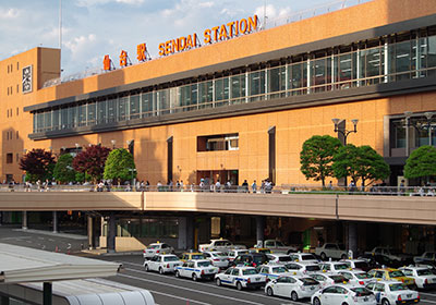 仙台駅2020→